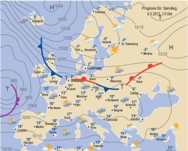 europa temperaturen im april
